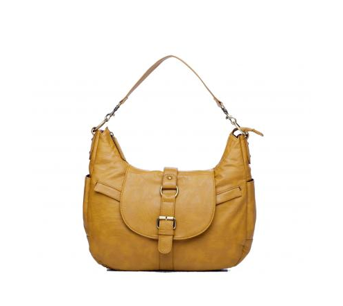 Yellow women's camera bag