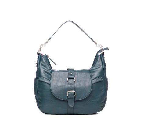 teal women's camera bag