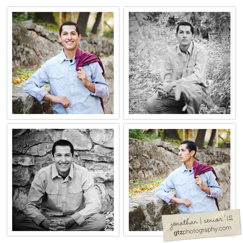 high school senior guy portraits with gown over shoulder, santa fe, nm