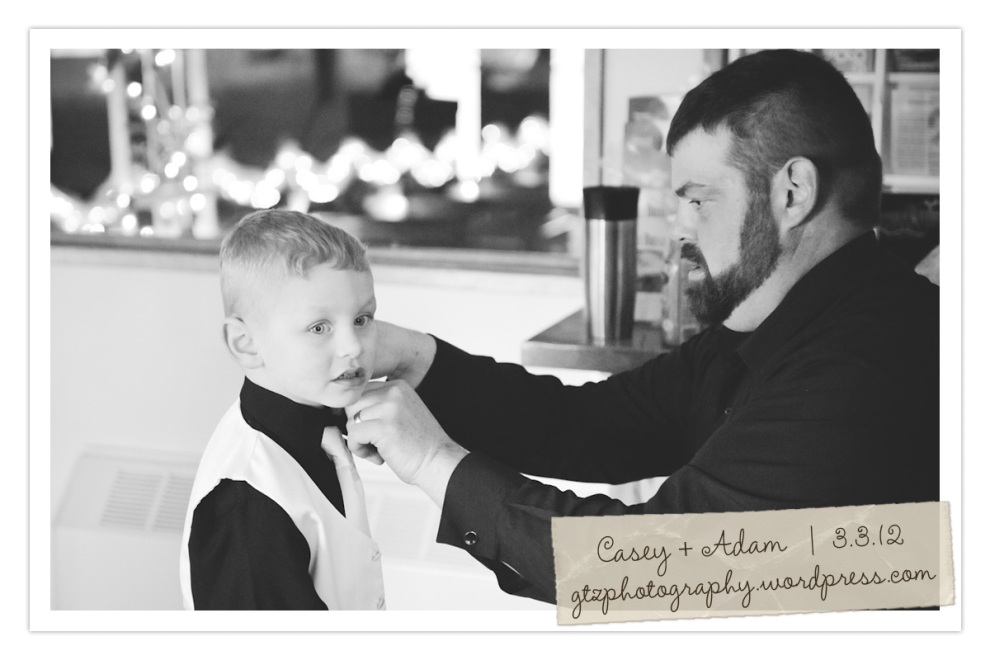 ring bearer and father